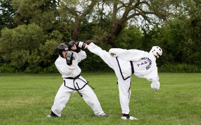 Ottawa Valley Taekwon-Do school offers sparring classes in Pembroke, Ontario.