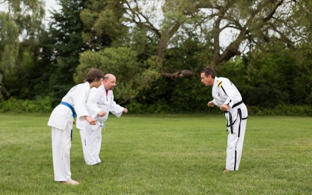 Ottawa Valley Taekwon-Do school teaches discipline in Pembroke, Ontario.